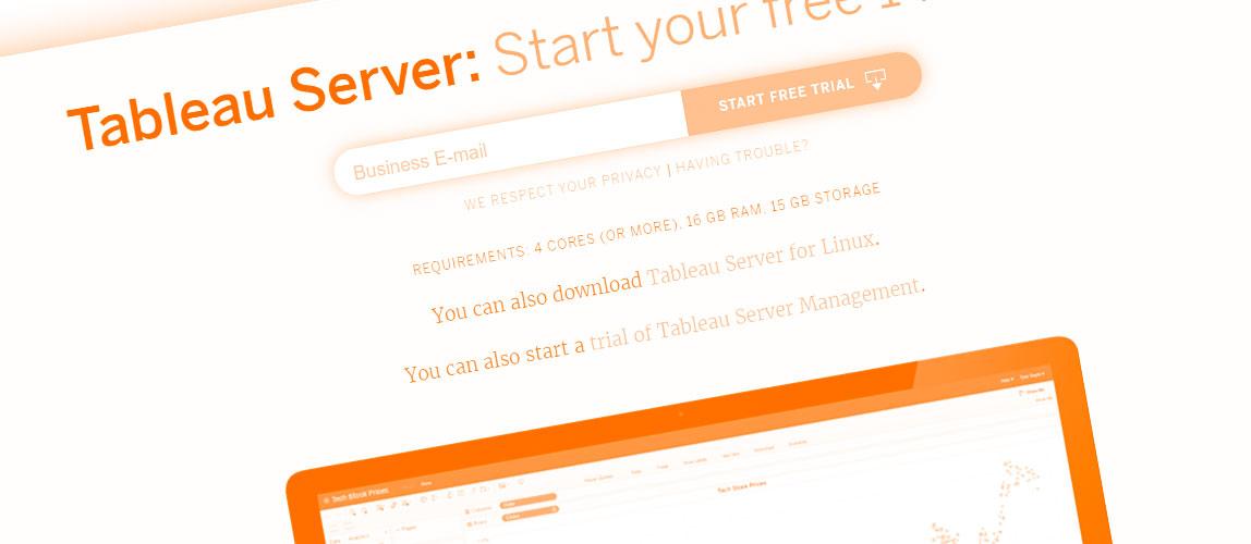 скачать tableau сервер