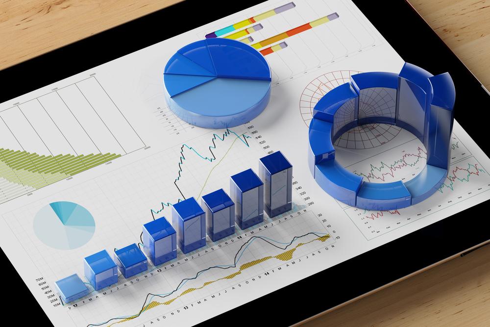 пример дашборда для мобильной визуализации данных