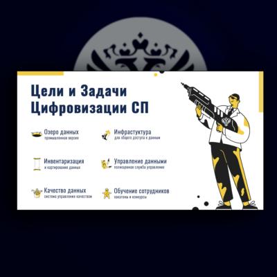 Слайд для презентации на тему цифровой трансформации в Счётной Палате России